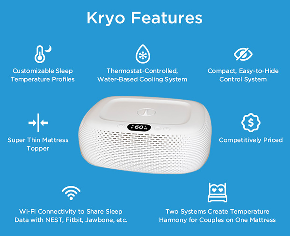 Chili Technology Kryo Features - Y Studios