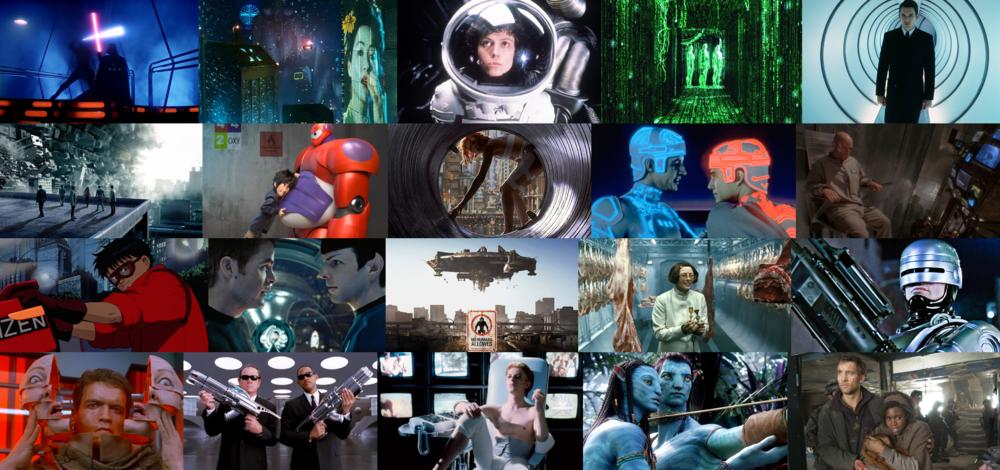 Y Studios all-time sci-fi-fi favorites
