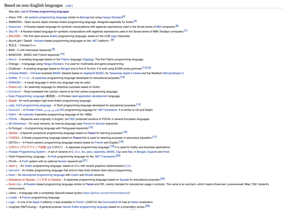 List of non-English programming languages - Wikipedia
