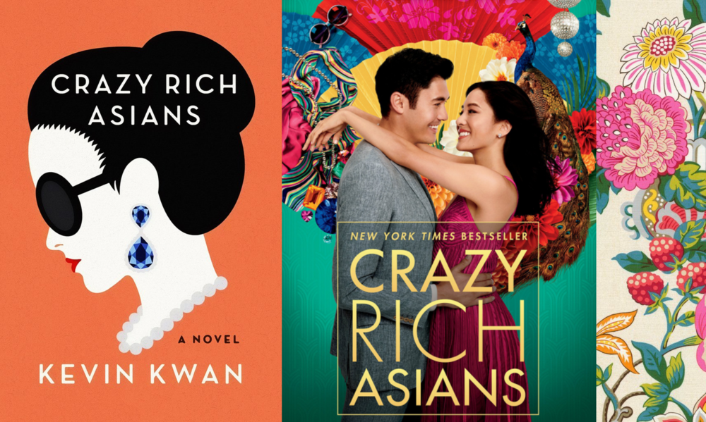 Crazy Rich Asians : novel by Keven Kwan, movie directed by Jon M. Chu