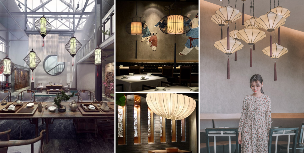 Modern interpretations of the Chinese lantern in Asia