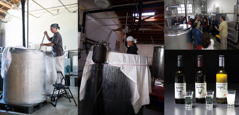 Sequoia Sake Company - Jake Myrick and Noriko Kamei