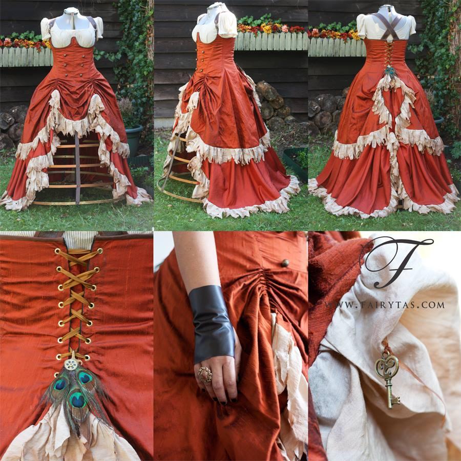 Fairytas - Steampunk wedding dress