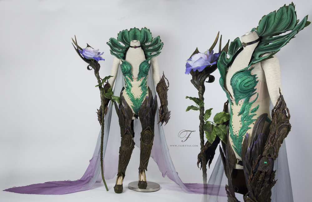 Dryad mage Elderwood LeBlanc