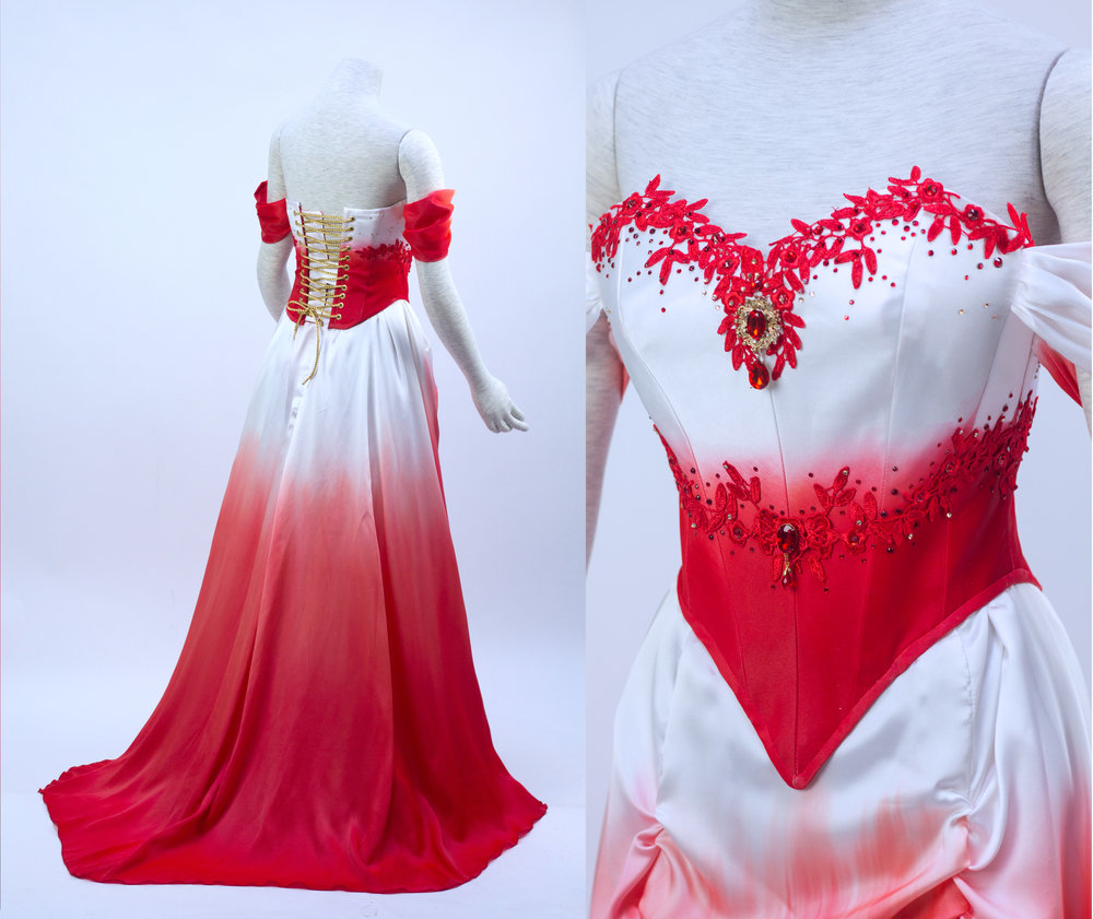 Asami wedding dress