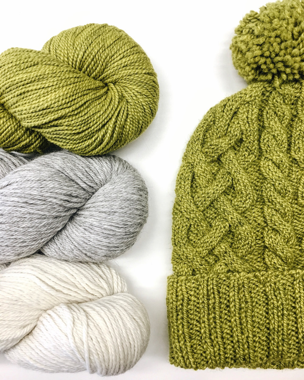 Week #8 of 16 of suggested projects — Yarns in the Square