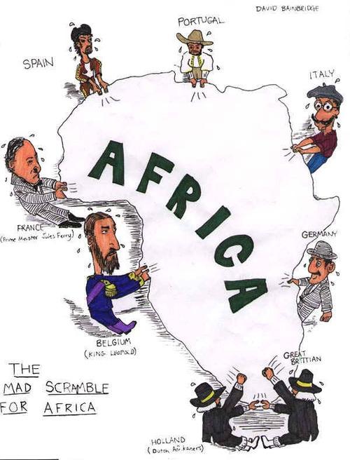 The Mad Scramble For Africa by David Sainbridge