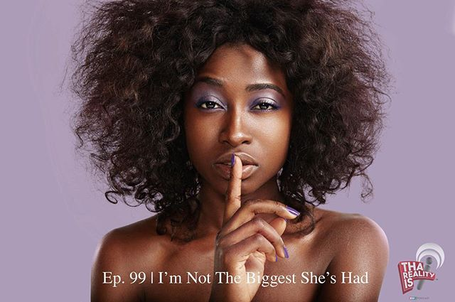 🚨New Episode Alert🚨 While on this podcast we talk about many things, I think it's important for men to know, you won't always be the biggest dick in the room or in your significant others life's (sometimes). #ourculture #monday #goodmorning #tharealityis #podcast #dallas #size #letstalk #realtalk #truth #likesforlikes #hertruth #queen #beauty