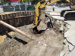TPH and Lead Soil Remediation – Excavation