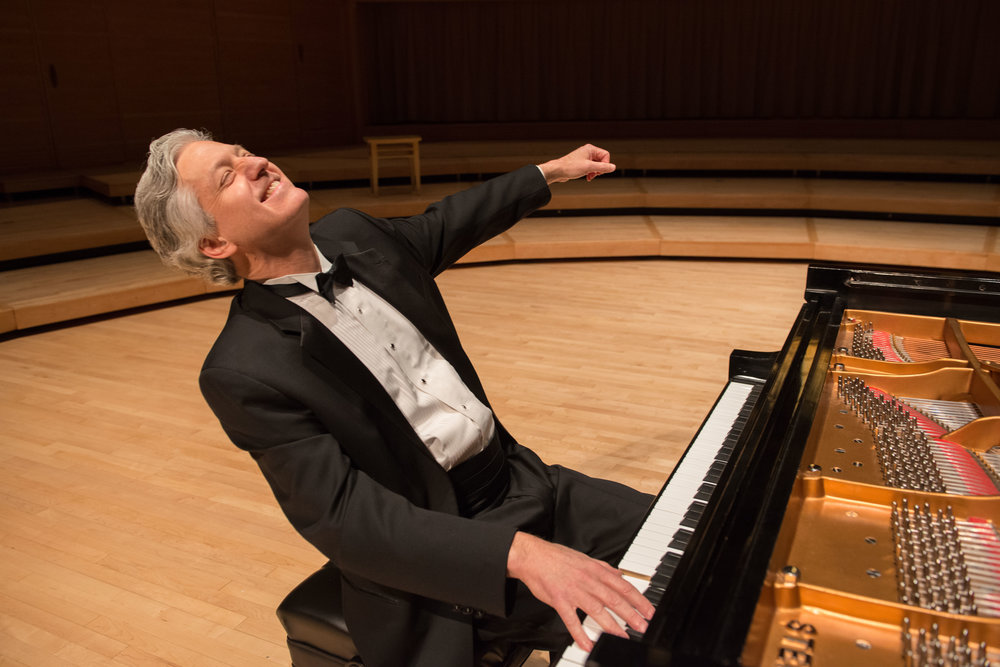 Brian performs at the 2018 Chopin concert at Strathmore.
