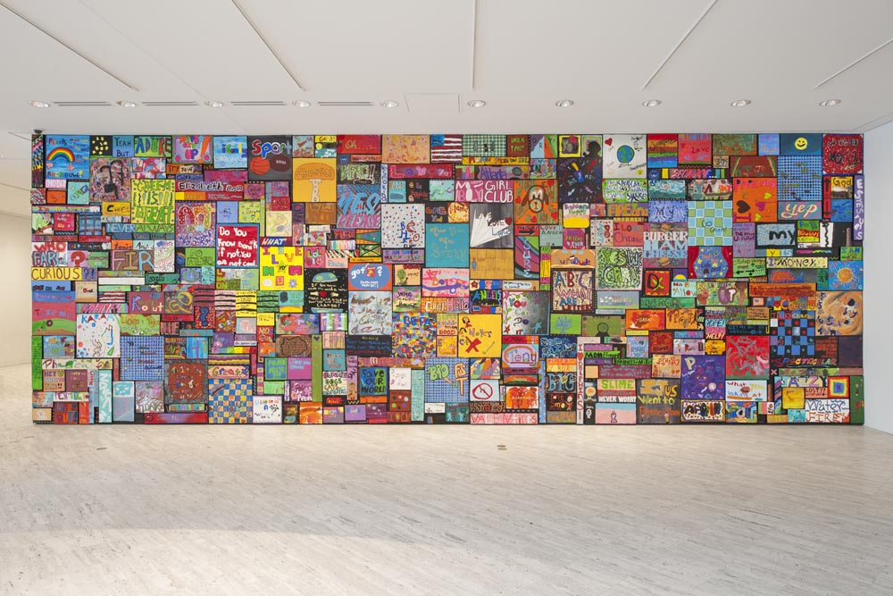 Signs and Symbols, youth collab at Boston Museum of Fine Arts, 2010