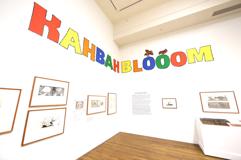 Kahbahblooom: The Art and Storytelling of Ed Emberley, Worcester Art Museum, 2016
