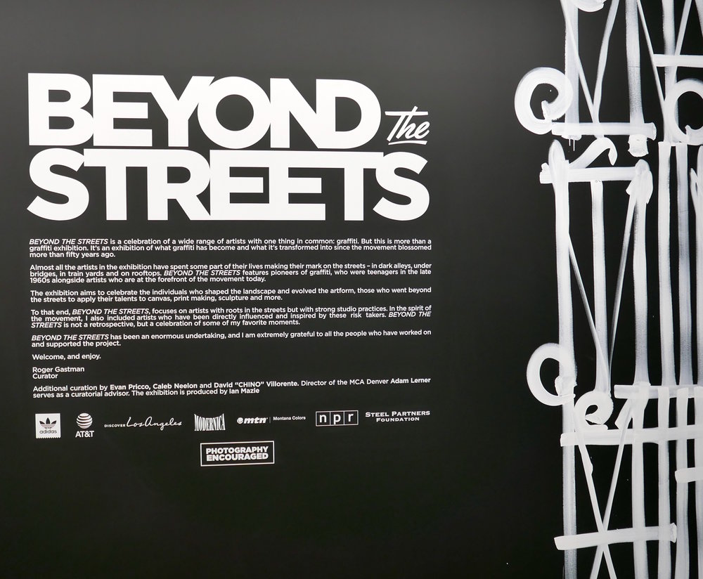 Beyond the Streets, Los Angeles