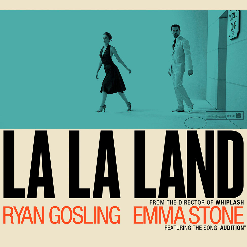 Alternate Poster for La La Land (my favorite one)
