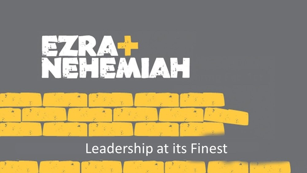 What makes a great leader? As Christians, we are all called to be leaders in some way or another. Some of us are called to lead on the front lines. Some of us are called to lead behind the scenes. Well, Ezra and Nehemiah were great leaders. These two men were called to lead major rebuilding efforts in Israel. And if you think about it, as Christ-followers we are called to be used to rebuild God's kingdom here on earth. But what's that going to take? Great leadership! Join us as we tackle what it means to be a great leader as we look at the stories of Ezra and Nehemiah.
