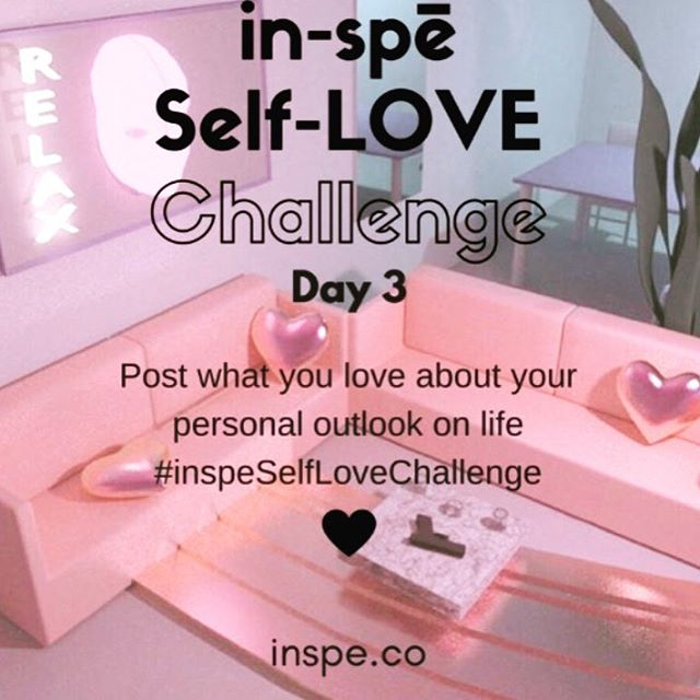 We all live in different realities due to our personal perspective which is ever evolving. What do you love about yours? #inspeselflovechallenge