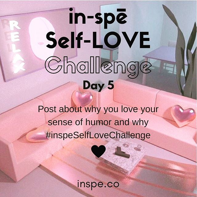 Laughter is powerful medicine. What's your style? #inspeselflovechallenge #selflove