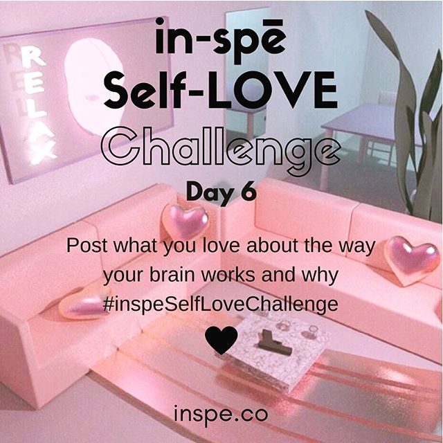 Your own unique perspective starts w the way you process things. Are you a creative, a big picture person, detail oriented?  How does the way your brain works help you to execute your plans and live your passion? #inspeselflovechallenge