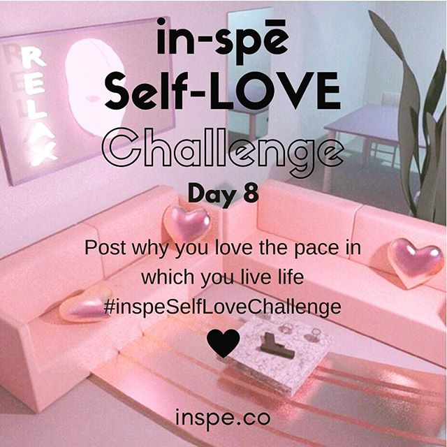 🐰 or 🐢 or 🐝how do you live? Remember these are just suggestions. Post what you like about YOU #inspeselflovechallenge