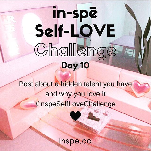 We all have unique gifts 🎁 with our own spin on them. What's in your treasure box 📦??? #inspeselflovechallenge