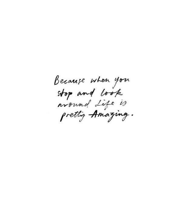 Finding Inspiration to get through our week on a positive note!