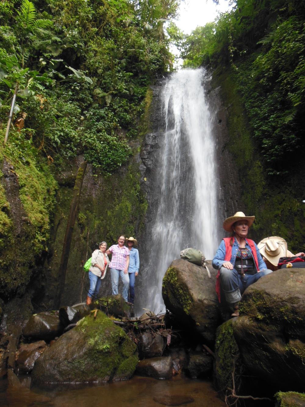 yoga and horse waterfall great.JPG
