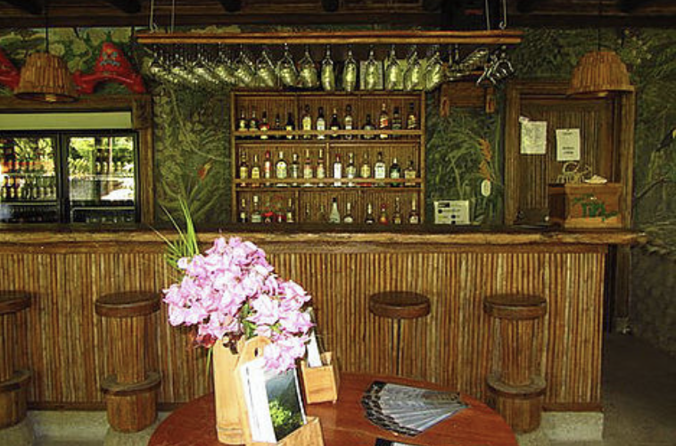 Want to kick up your heels after a day with horses? The ranch Tiki Bar is the place to go for a fresh squeezed frozen cocktail, or a nice glass of wine!
