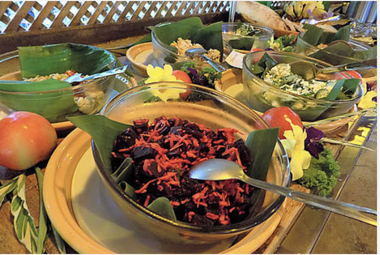 Farm to Table Organic Buffet!