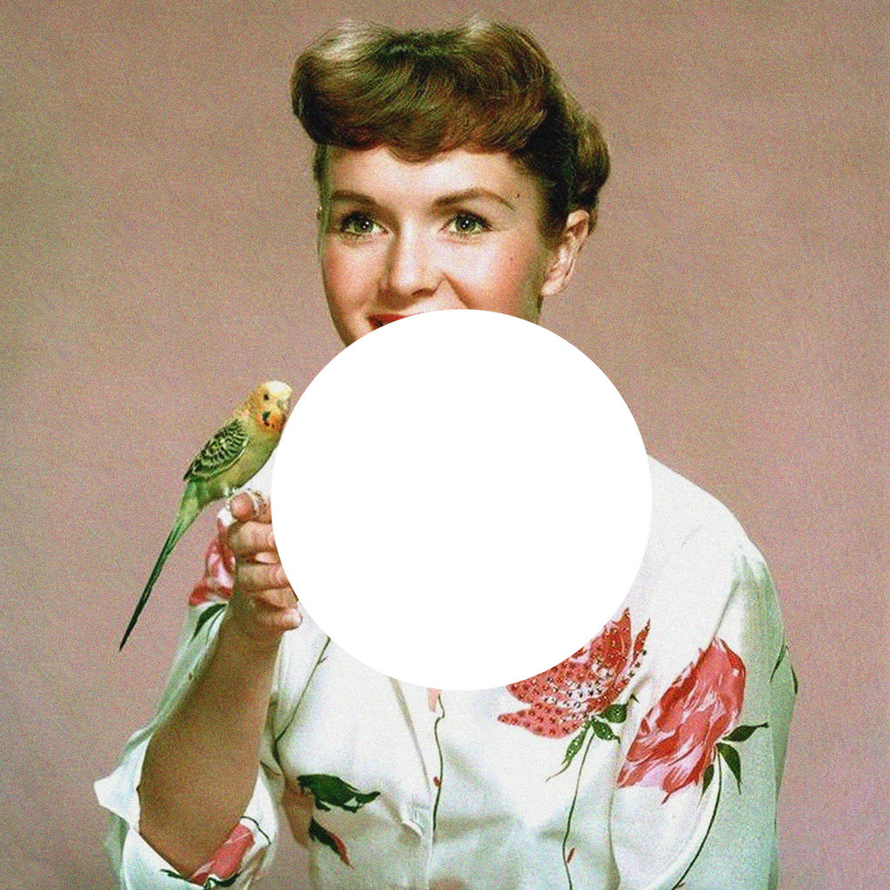 debbie reynolds and the parrot.jpg