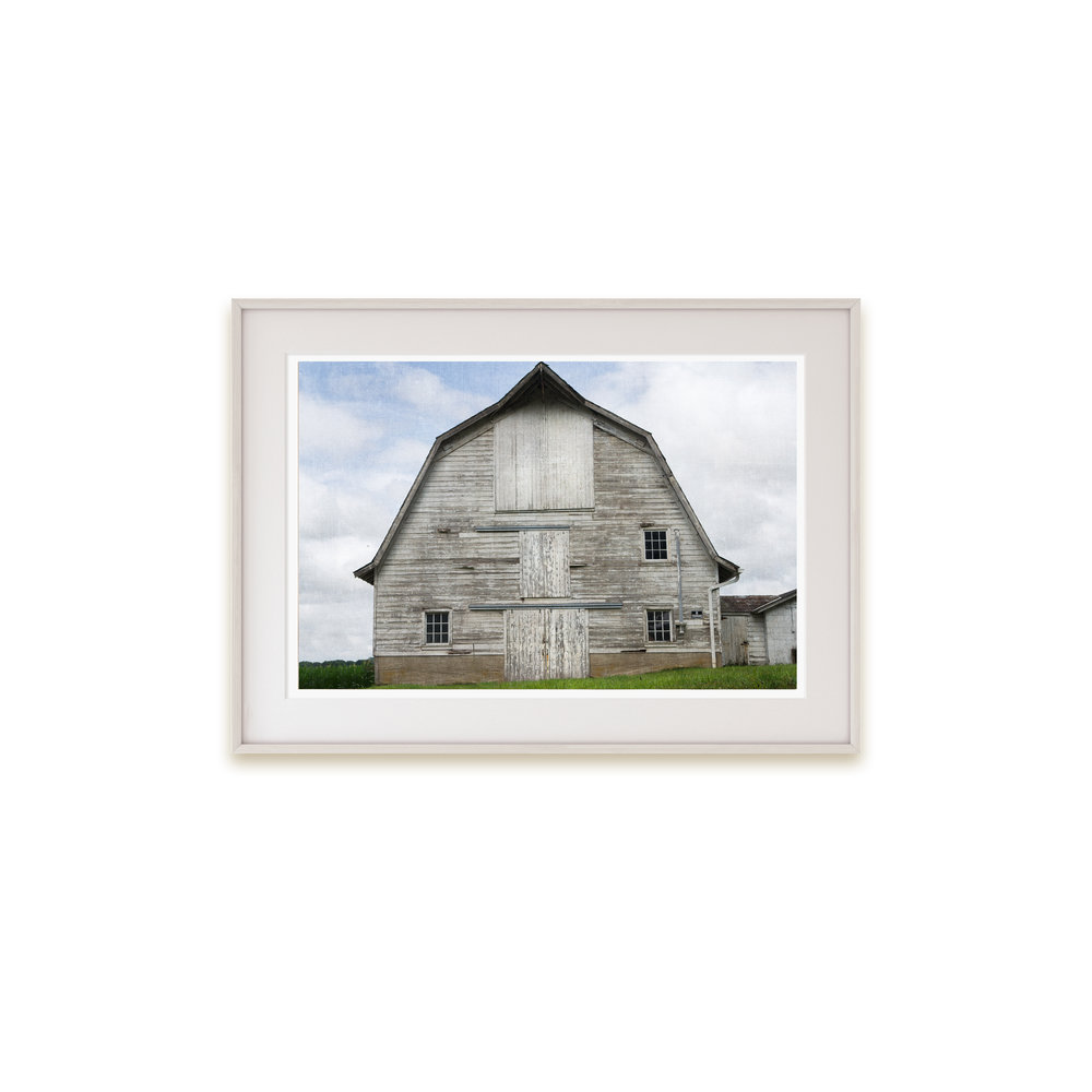 Rustic barn art with a French country look