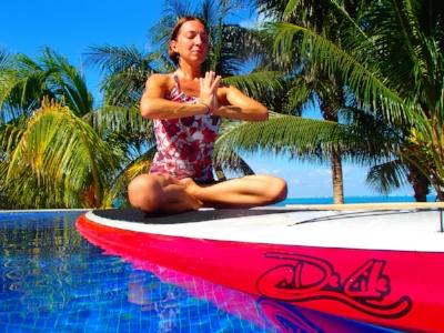 Maria Hykin, Adventure Yoga Guide