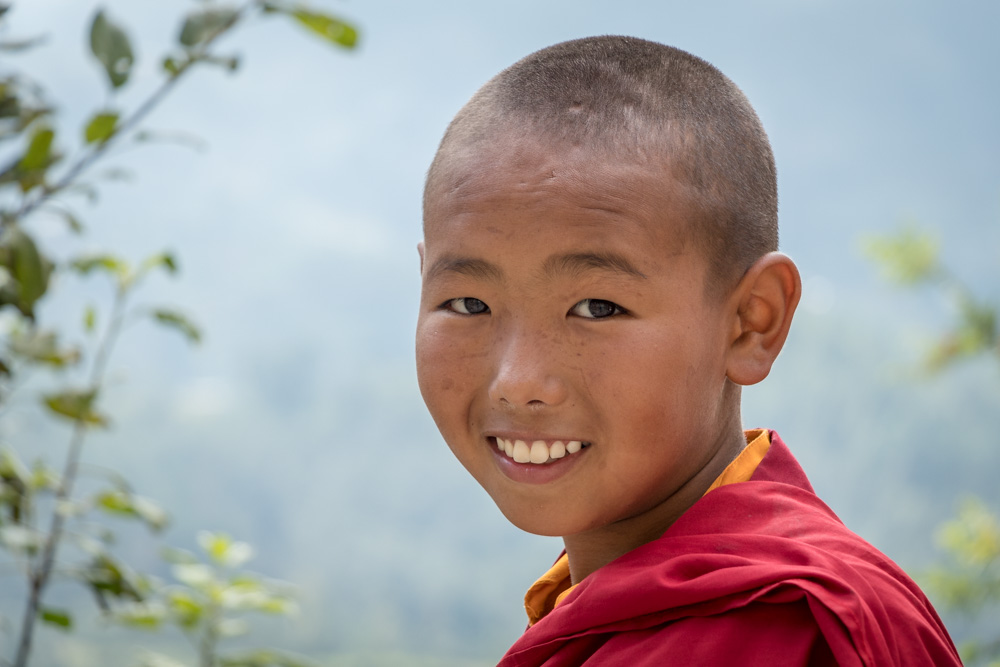 Cultural immersion with Tibetan Buddhist child monks at NamoBuddha Monastery