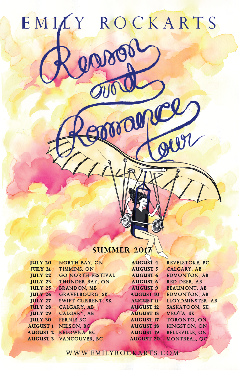Tour Artwork By:  Naomie Hadida
