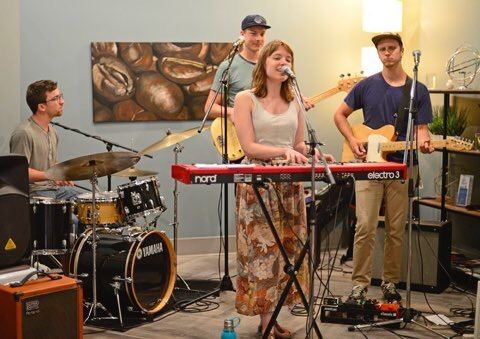 A snap from our show at Urban Ground - Thanks to the Southwest Booster                                                for the great photo!
