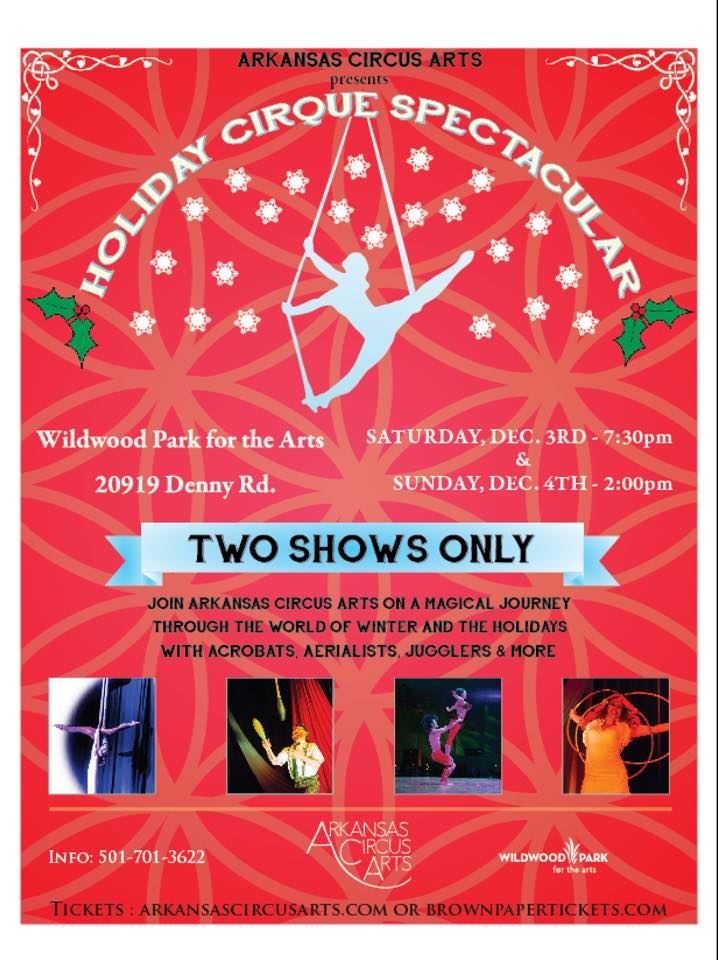 The Holiday Cirque Spectacular lands in Little Rock! — Arkansas