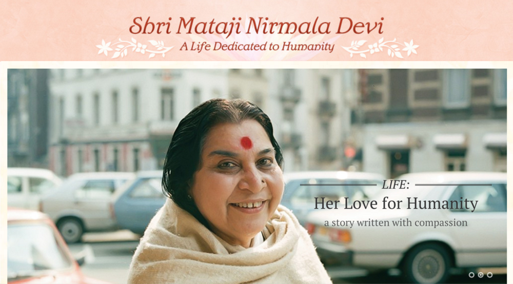 Shri Mataji's Biography and Work
