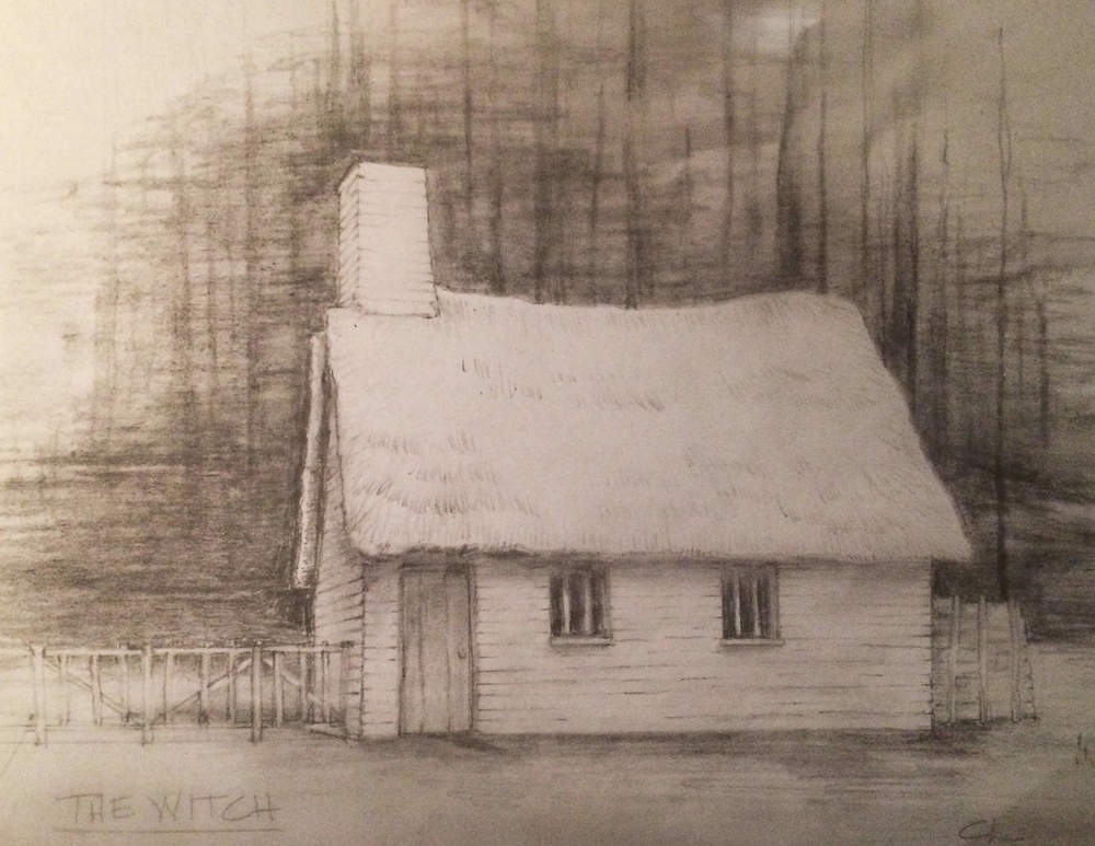 Farmhouse Sketch