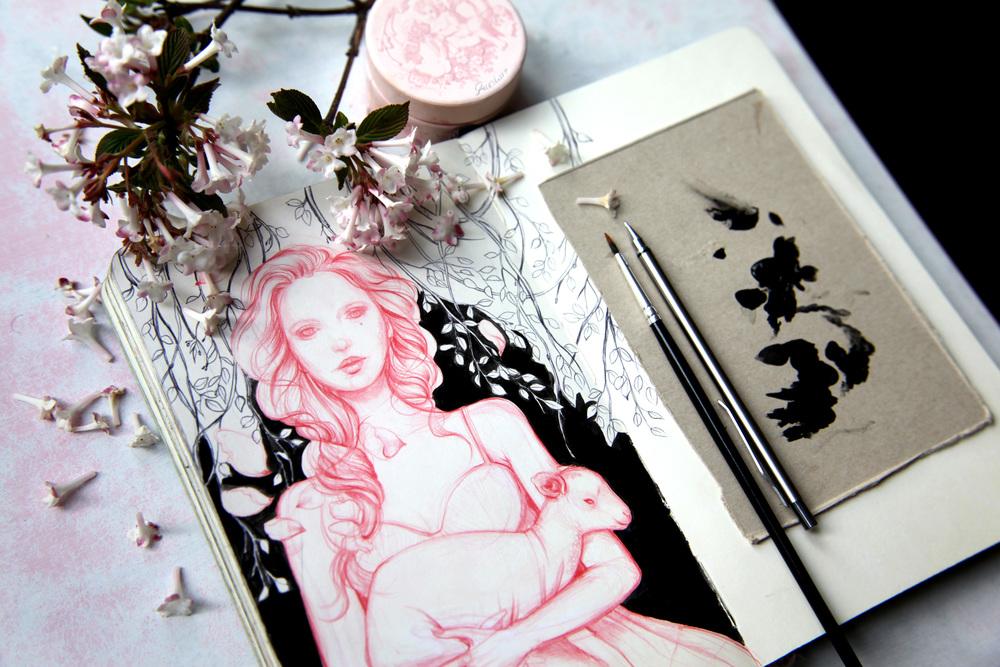 Found_Sketchbook_Moleskine_lamb_girl_Marjolein_Caljouw_web.jpg
