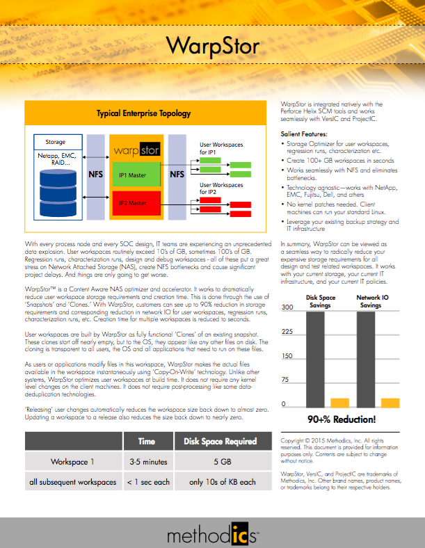 Click the image above to download the WarpStor data sheet.
