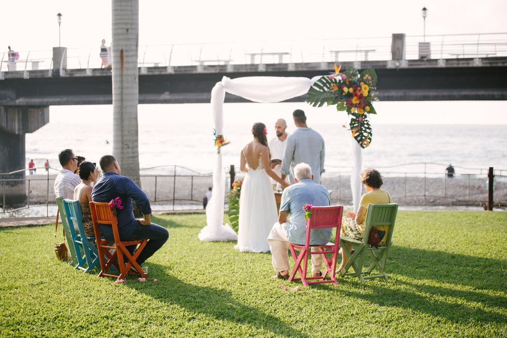 Puerto Vallarta Malecon Wedding