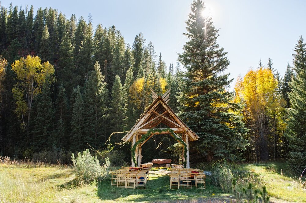 Colorado Wedding Dunton Hot Springs