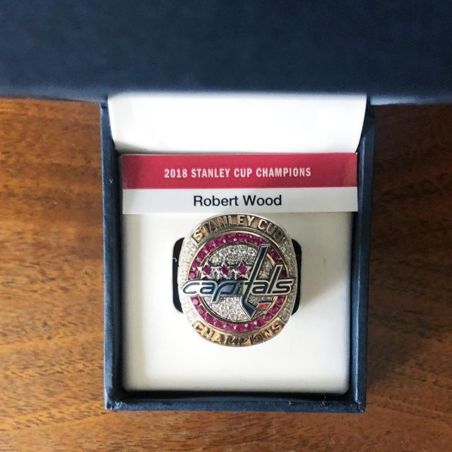 @monsportsnet they have outdone themselves on these #championshiprings standing our hair up all over again - thanks from SuperFd!  #washcaps #hockey #stanleycup #championship #local #cheflife