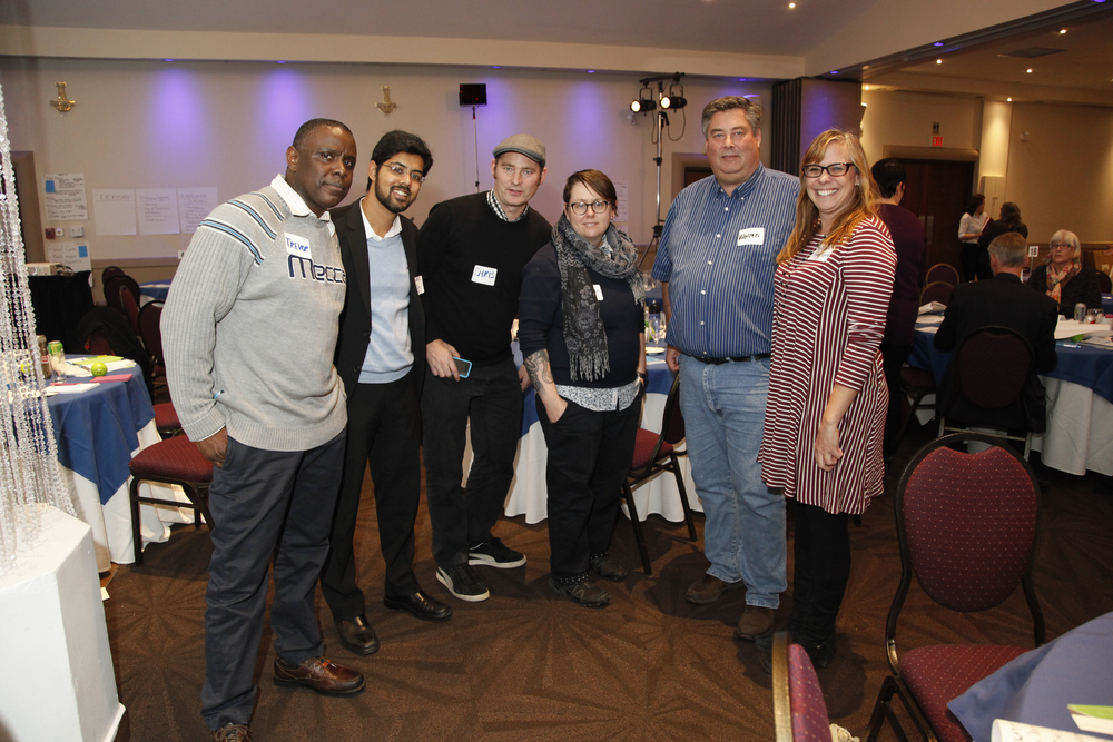 SET members at the Mental Health & Social Business Forum in Ottawa, November 2015