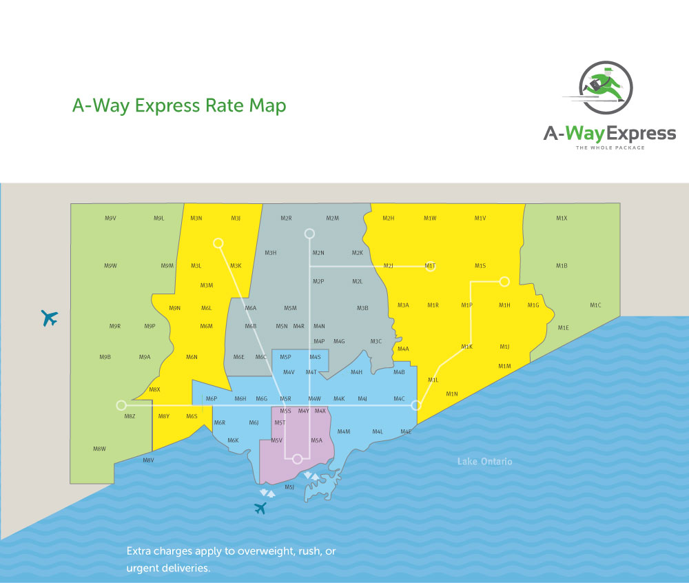 A-Way Service Map