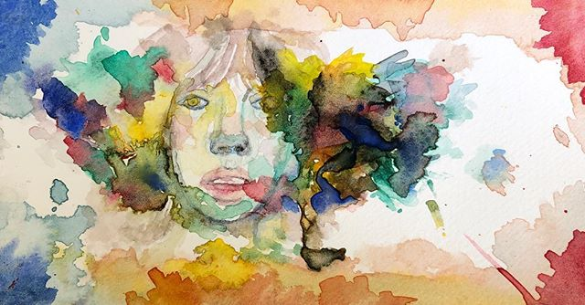 Imagination stems from exploration :: #watercolor