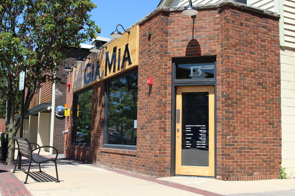 Gia Mia Front Entrance