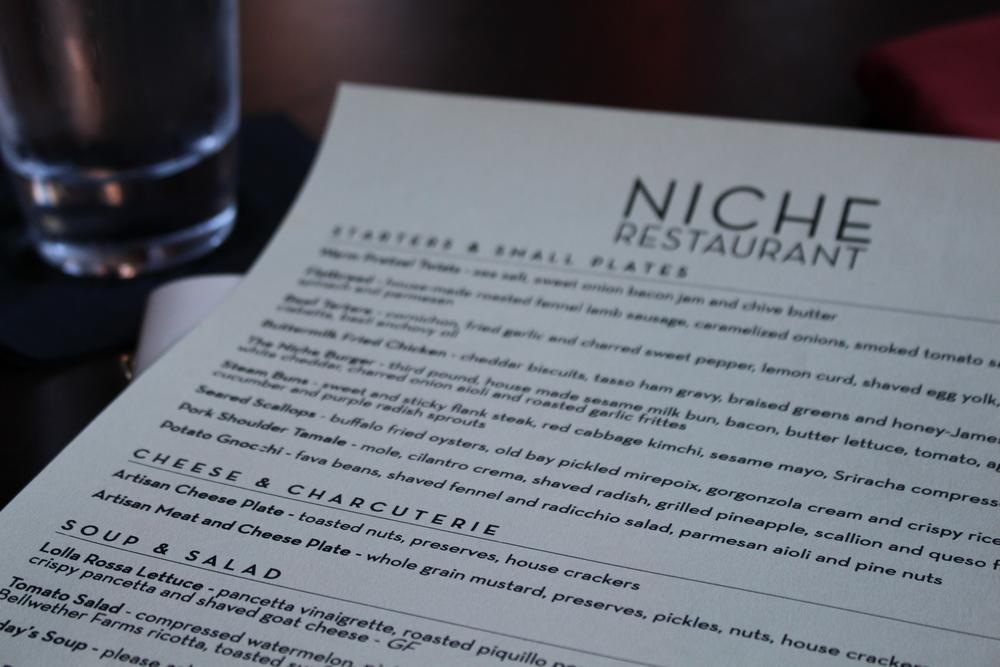 niche menu
