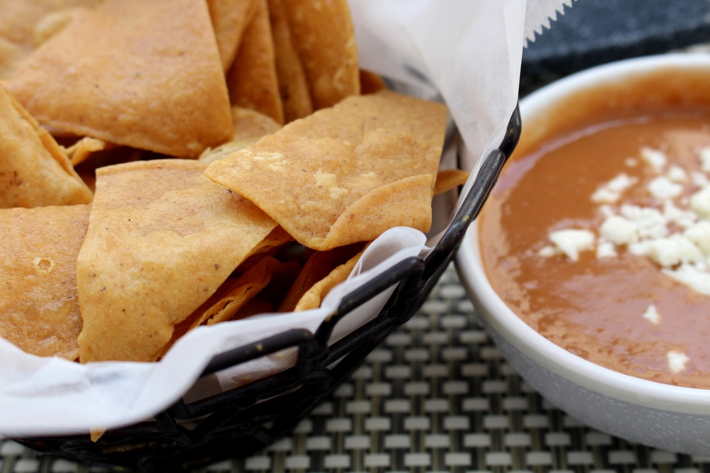 Chips and Bean Dip