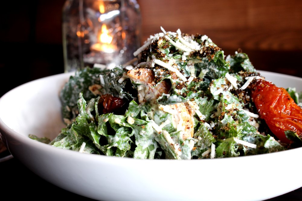 Heart Kale Smoked Chicken Salad