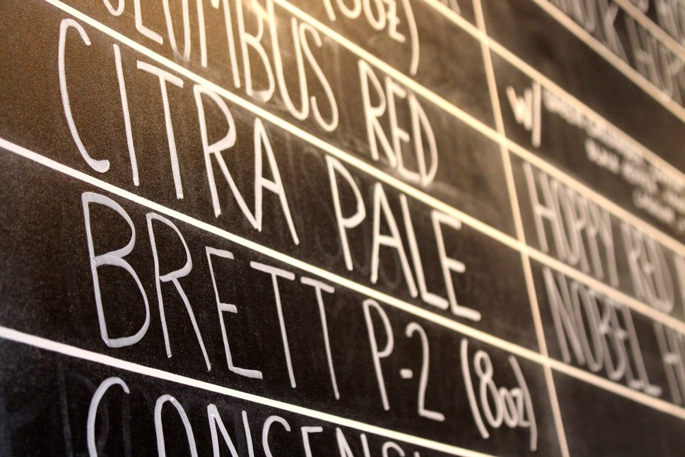 Penrose Beer Chalkboard
